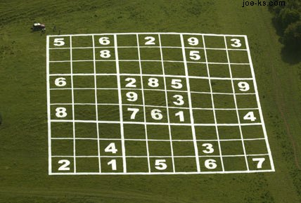 The world's largest Sudoku puzzle
