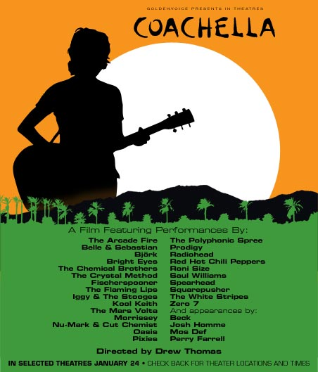 The Coachella movie poster