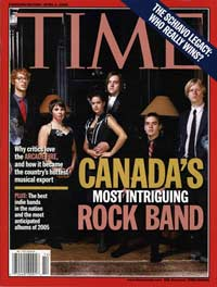 Canada's Most Intiguing Band Indeed