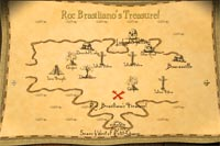 Map to The Roc's Treasure